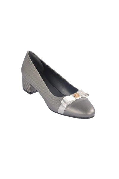 Maje 6344 Platin Kadın Topuklu Ayakkabı