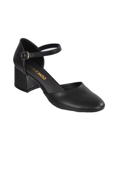 Maje 6031 Siyah Kadın Topuklu Ayakkabı