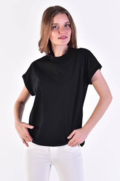 Addax Katlama Kol T-shirt P0358 - J10j11