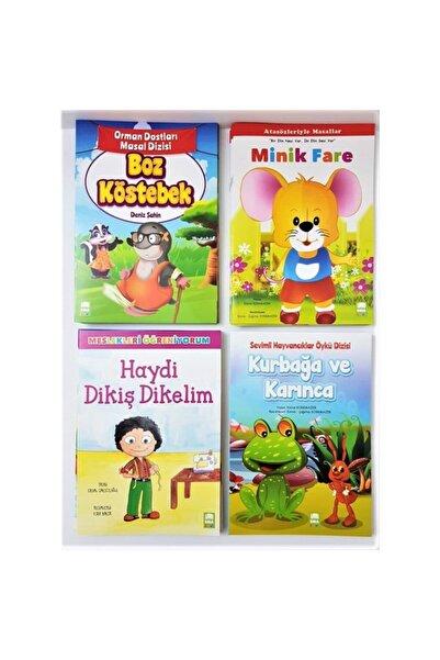 Ema Çocuk Okul Öncesi Anaokulu Hikaye Seti 40 Kitap Büyük Boy /a4
