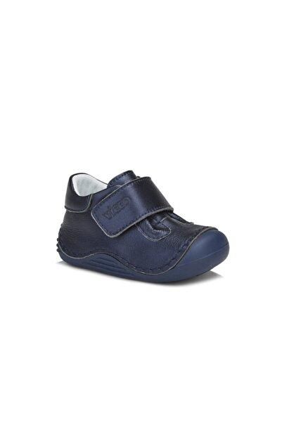 Vicco Pupa Erkek Ilk Adım Lacivert Hakiki Deri Günlük Ayakkabı