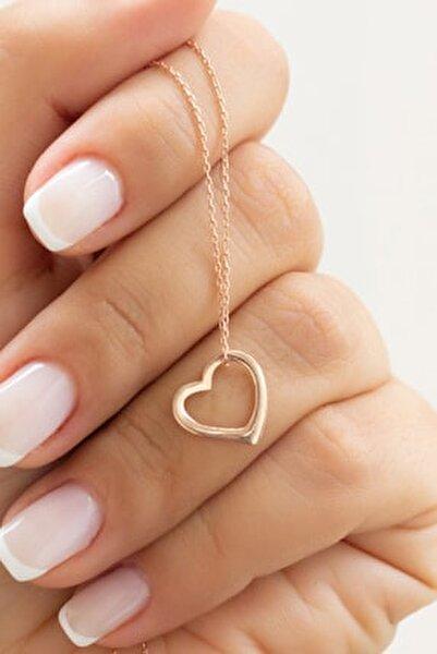 Kalp Gümüş Kolye