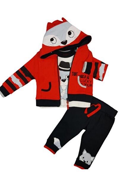 Miniworld Erkek Bebek Takım Hırkalı