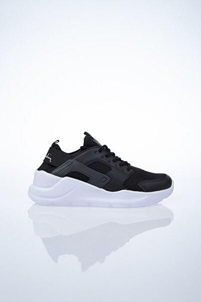 Pierre Cardin PC-30031 Siyah-Beyaz Kadın Spor Ayakkabı