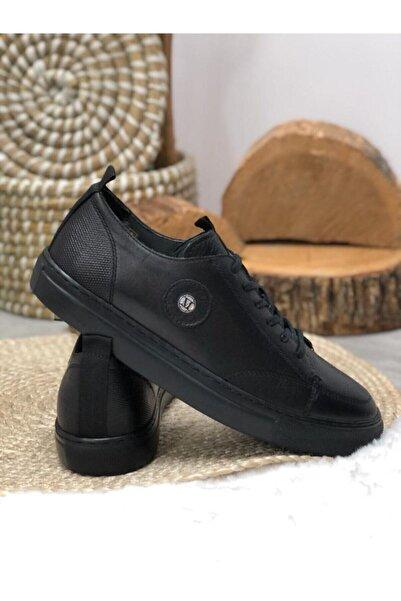 MARCOMEN Erkek Siyah Dora Ayakkabı 11052-