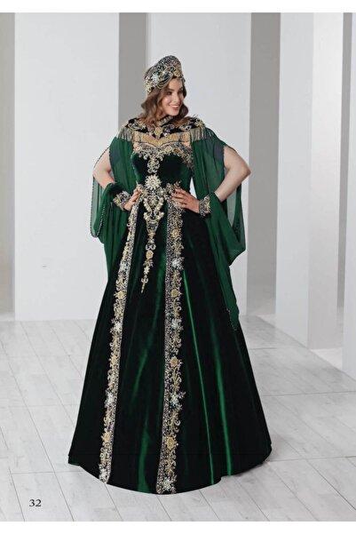 Ceyyiz Kadın Bindallı Kına Elbisesi 5 Parça 20-115