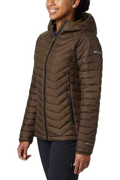 Columbia Wk1499-319 Powder Lite Hooded Jacket Kadın Mont