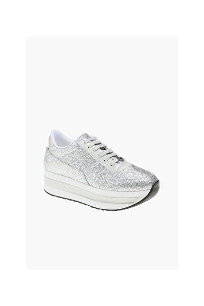 Dıvarese Giro Kadın Gümüş Sneaker