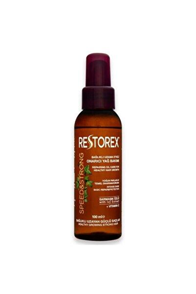 Restorex Sağlıklı Uzama Etkili Onarıcı Bakım Saç Bakım Yağı 100 Ml