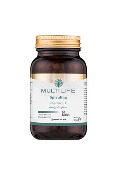 Huncalife Multilife Spirulina 60 Tablet Takviye Edici Gıda