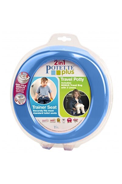 Potette Mavi Tuvalet Adaptörü