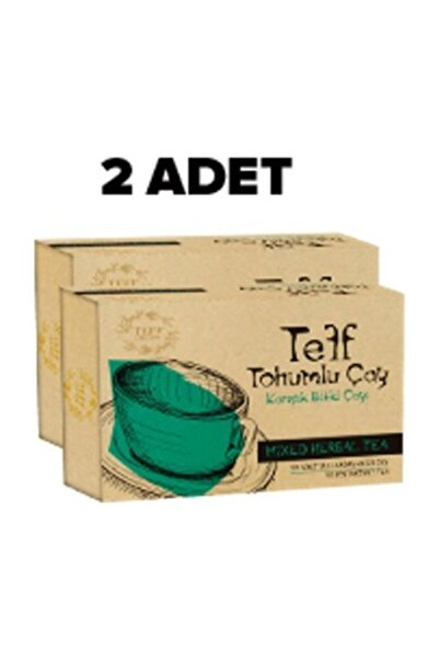 Teff Life Slim Teff Tohumlu Çay 60 Günlük Kullanım 2 Kutu