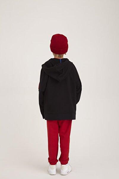 Kuaybe Gider Unisex Çocuk Siyah Ceket 330011120