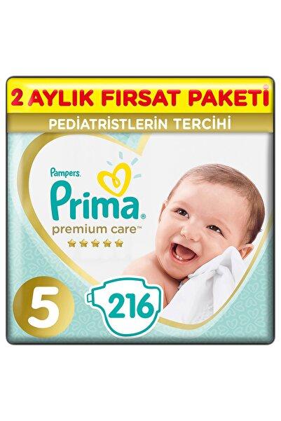 Prima Premium Care Bebek Bezi 5 Beden 216 Adet Junior 2 Aylık Fırsat Paketi