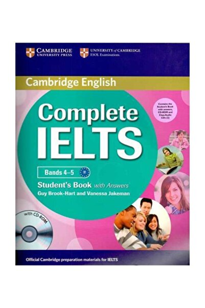 Cambridge University Press Complete Ielts Bands 4-5 Student's Pack With Answers W/h Cds / Cmb
