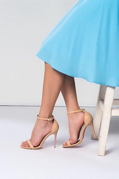 Fox Shoes Ten Kadın Topuklu Ayakkabı B922112609