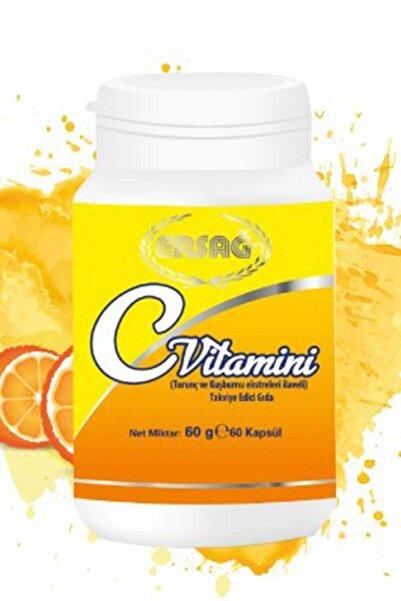 Ersağ C Vitamini Kapsül (Turunç Ve Kuşburnu Ekstreleri Ilaveli )