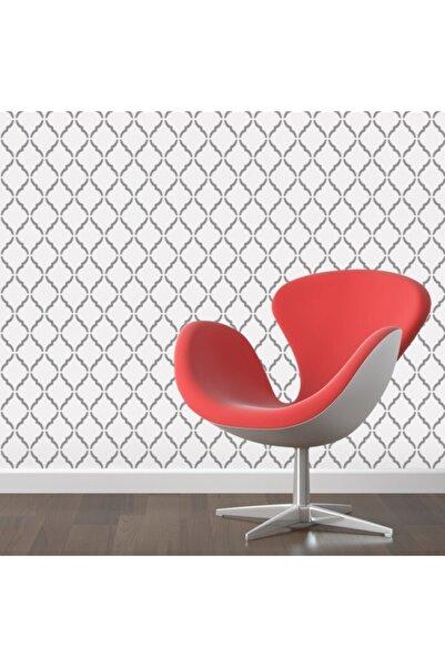 Artikel Desen-1 Stencil Boyama Şablonu-Duvar Stencil- Fayans Stencil- Mobilya Stencil  30x30 cm