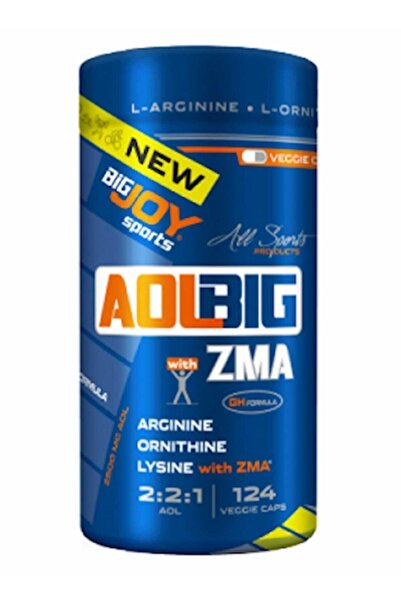 Big Joy Aol+zma 124 Veggie Kapsul