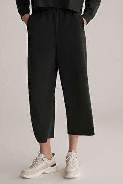 Kadın Modal Culotte Pantolon Siyah 31237666