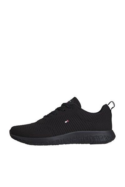 Tommy Hilfiger Erkek Th Corporate Knit Rib Runner Sneaker