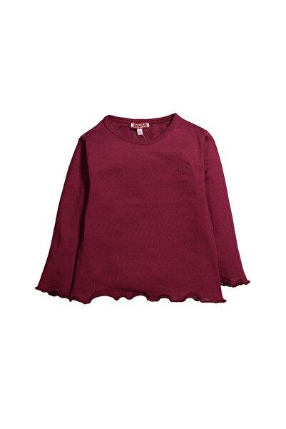 Zeyland Nakışlı Fırfır Detaylı Uzun Kollu T-shirt (6ay-8yaş)