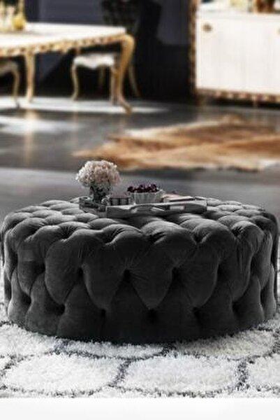 Romossi Luxury Siyah Puf