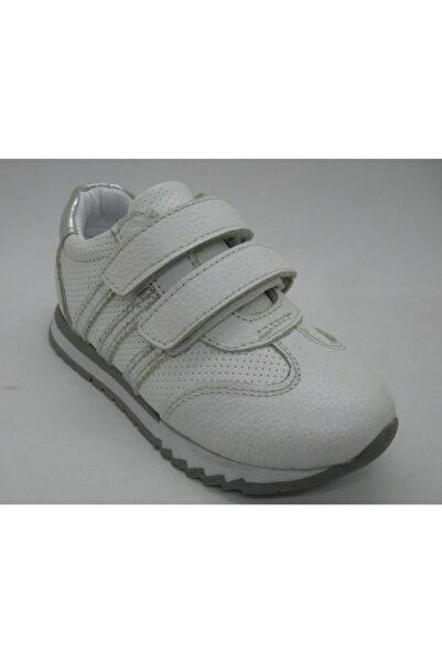 Toddler Kız Bebe Beyaz Deri Ortopedik Ayakkabısı 23 0203