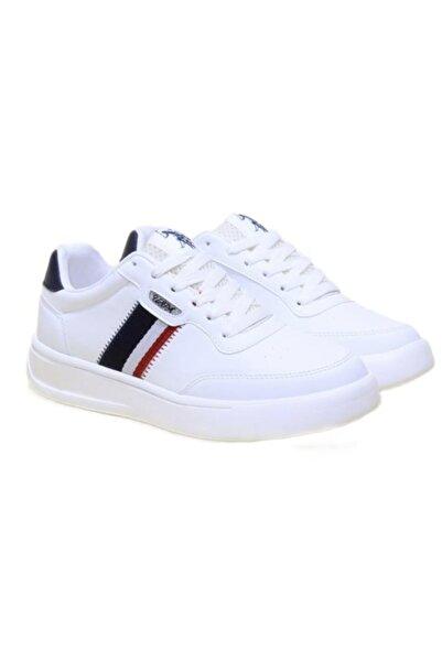 U.S. Polo Assn. ELITA Beyaz Kadın Havuz Taban Sneaker 100606370