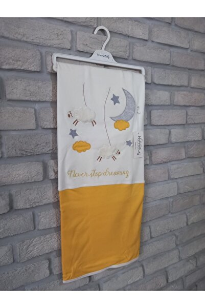Nonna Baby Kuzu Ve Ay Desenli Çift Renk Battaniye