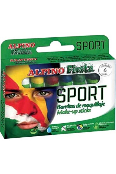 Alpıno Yüz Boyama Seti Fıesta Sport 6x5gr Dl-011