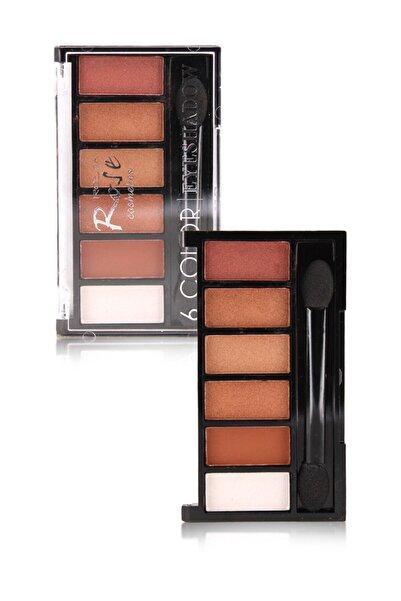 Makeuptime Rose 6 Lı Far Paleti