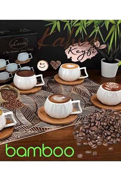 Lavin Bomboo Kahve Fincanı 10177 Yeni Model