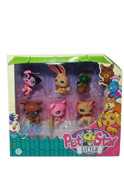 Little Pet Shop Miniş 6 Figürlü