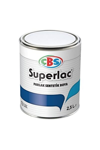 Çbs Superlac Yağlı Boya 2.5lt Beyaz
