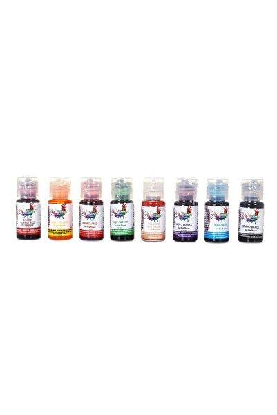 velomy Sıvı 8 Renk 10 Gr Su Bazlı Likit Gıda Boyaları
