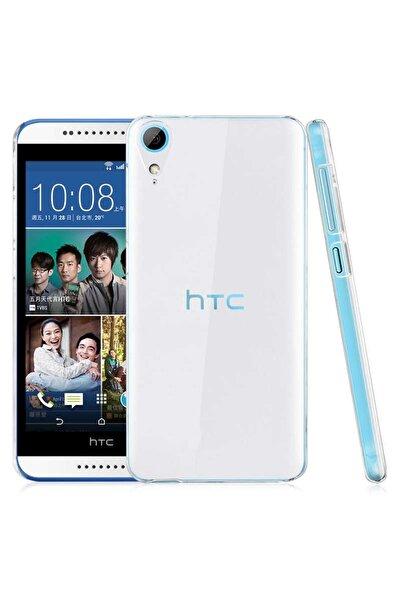 HTC Desire 820 Kılıf Şeffaf Ince Ve Esnek Mükemmel Kalıp