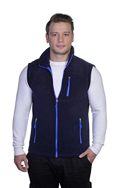 GENIUS Store Erkek Polar Yelek Tam Femuarlı Outdoor Spor Yelek 3 Cepli 8 Renk