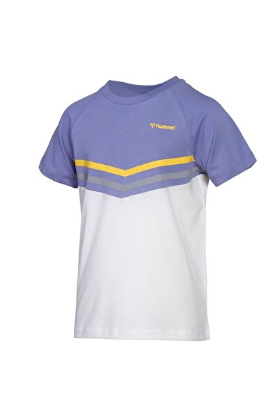 HUMMEL Çocuk Yankton Lila T-shirt 911378-7022