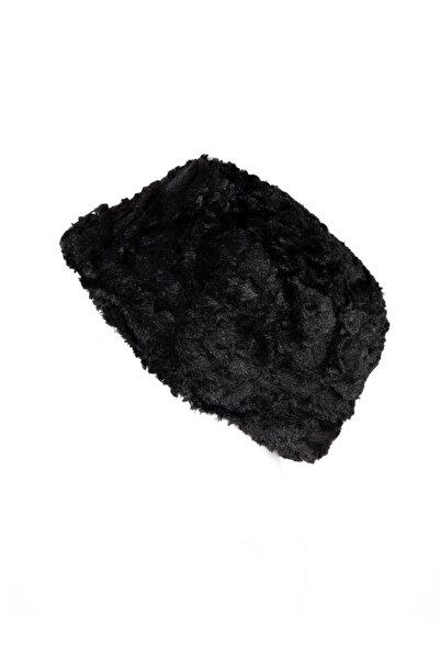 Marlux Kadın Kalpak Şapka Suni Kürk