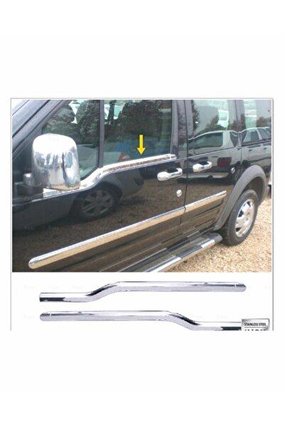 FAMS OTO AKSESUAR Ford Connect Krom Cam Çıtası 2 Prç. 2002 Ve Üzeri Paslanmaz Çelik