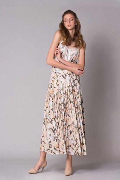 GIZIA CASUAL Kadın Çicek Desenli Elbise M18YEW06313AT