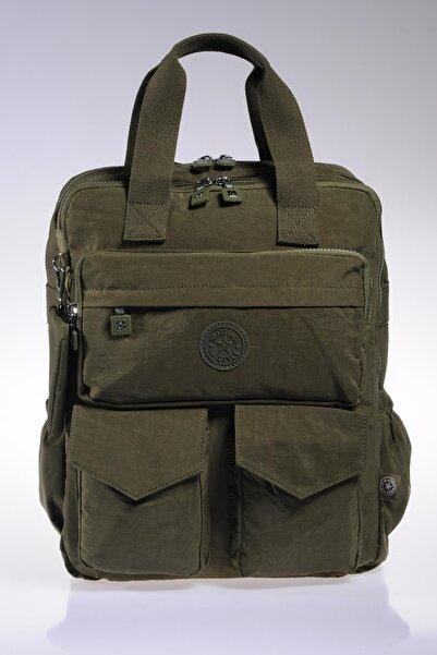 SMART BAGS Smb1175-0029 K.yeşil Kadın Sırt Çantası