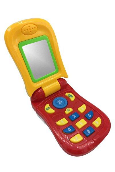 Can-Em Oyuncak Canem 1013 Müzikli Telefon Kartelada Kırmızı