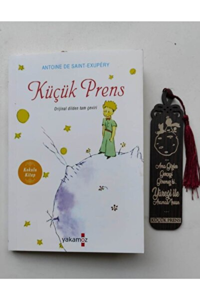 Yakamoz Yayınları Küçük Prens+ahşap Küçük Prens Ayracı Hediye- Yakamoz Yay.(kokulu Kitap)
