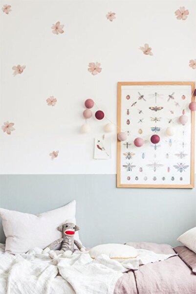 WALLHUMAN Kır Çiçekleri Duvar Stickerı