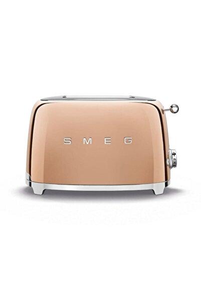 SMEG Rose Gold 2 Dilimli Ekmek Kızartma 50's Style