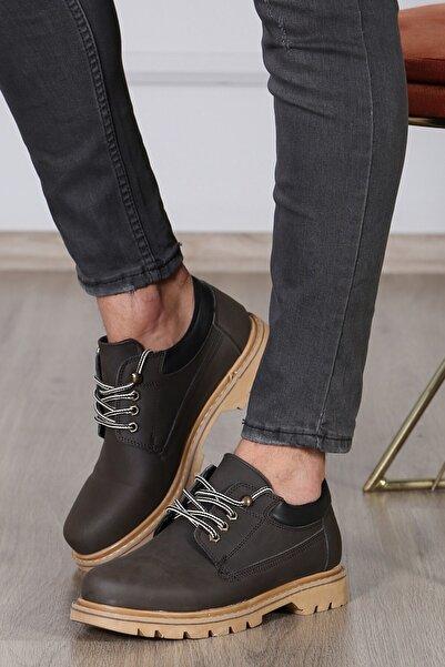 Madmext Erkek Kahve Ayakkabı Ms040