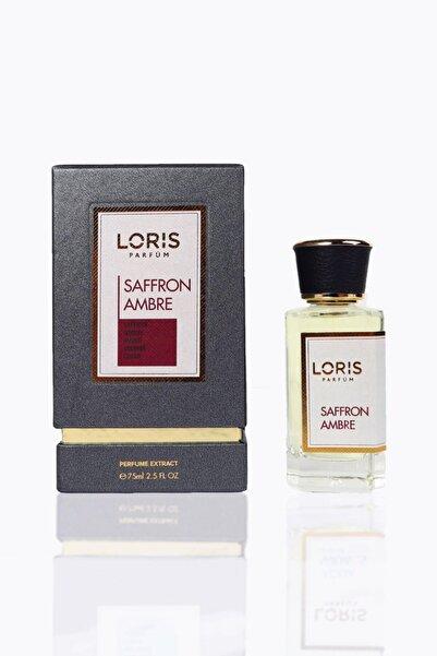 Loris Saffron Ambre Niche Parfume Edp 75 ml Unisex Parfüm