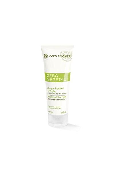 Yves Rocher Sebo Vegetal - Yağ Fazlasını Anında Emen Matlaştırıcı Kil Maske